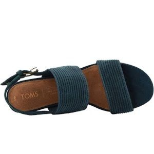 Toms Shoes - TOMS Atlantic Corduroy Poppy Sandals